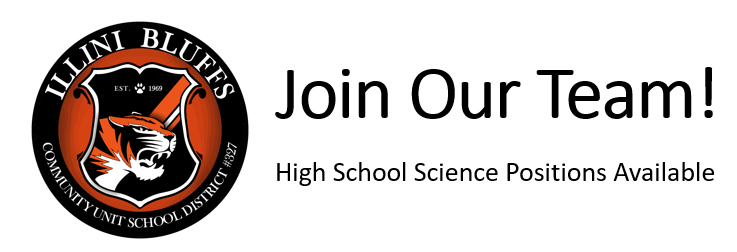 High School Science Positions Available