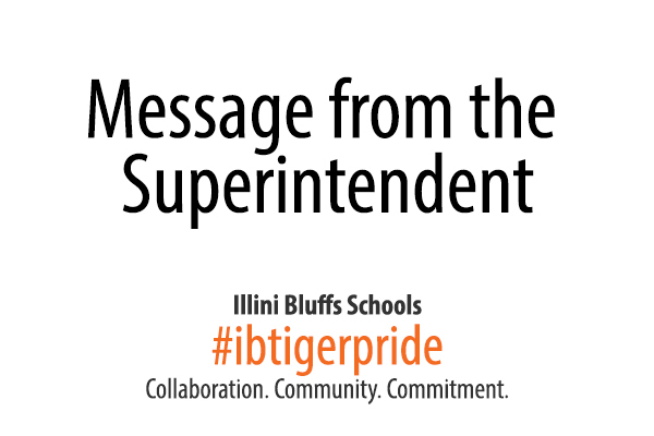 Special Announcement About the Closure of Illini Bluffs Schools