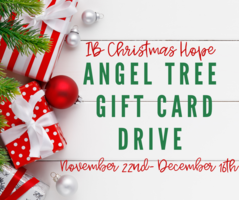 Angel Tree Gift Card Drive
