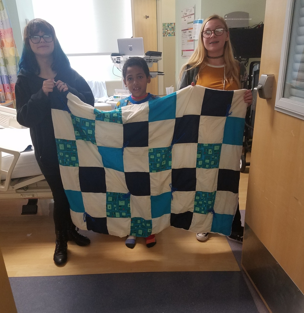 Quilt donated to St. Jude patient